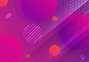 cercles abstraits fond dégradé de couleur géométrique avec texture.