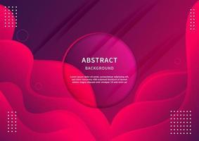 fond géométrique abstrait. forme liquide. motif minimal. fond de conception de couleurs dégradé bleu et rose.