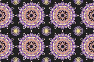 Vecteurs exceptionnels de modèle kaléidoscope vecteur