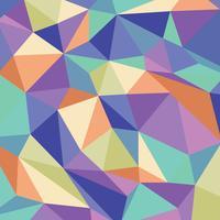 Motif géométrique de Kaléidoscope vecteur