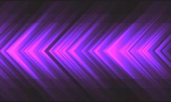 Abstrait violet lumière flèche vitesse énergie sur illustration vectorielle de conception gris foncé fond futuriste moderne technologie. vecteur