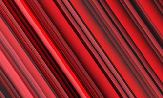 illustration vectorielle de fond abstrait ligne grise rouge vitesse texture. vecteur