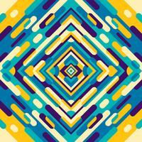 motif kaléidoscope vecteur