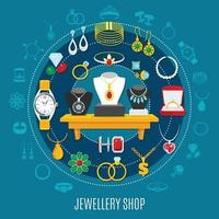 illustration vectorielle de bijoux