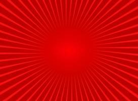 fond abstrait rayons de soleil rouge vecteur