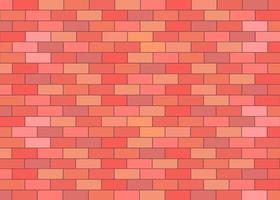 fond de vecteur de mur de brique