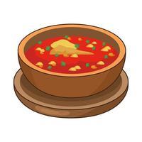 délicieuse cuisine traditionnelle mexicaine vecteur