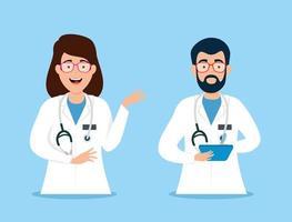 caractère avatar médecins