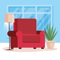 salon maison avec canapé