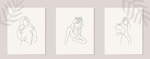 définir une figure de femme linéaire. silhouette linéaire continue du visage féminin. contour dessiné à la main des filles avatars. logo glamour linéaire dans un style minimal pour salon de beauté, maquilleur, styliste