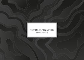 Topographie Style vecteur de fond