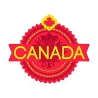 joyeux jour du Canada