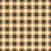 motif de fleur ethnique abstraite de tissu géométrique, modèle sans couture de style illustration vectorielle.