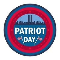 bannière de jour de patriote