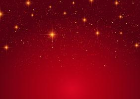 Fond d'étoiles de Noël vecteur