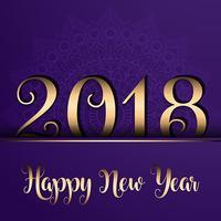 Élégant fond de nouvel an