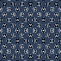 motif floral abstrait de tissu, style plat illustration vectorielle
