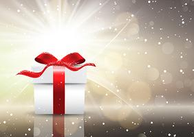 Fond de cadeau de Noël vecteur