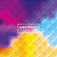 abstrait avec des formes multicolores vecteur
