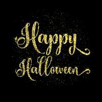 Glitter fond de type halloween heureux vecteur