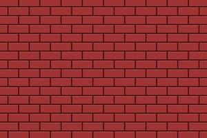 illustration de conception de vecteur de fond de mur de brique