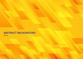 Forme moderne abstraite diagonale géométrique jaune avec fond et texture de points