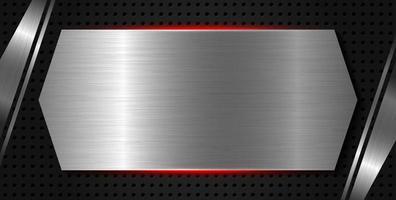 illustration vectorielle de texture métallique fond