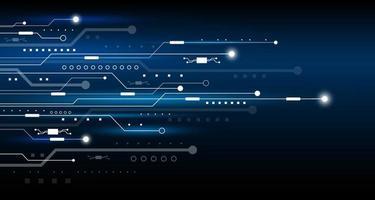 illustration vectorielle de technologie abstraite fond design