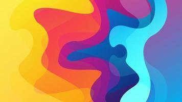 abstrait avec effet dynamique. modèle moderne adapté pour fond d'écran, bannière, arrière-plan, carte, illustration de livre, page de destination, cadeau, couverture, flyer, rapport, entreprise, médias sociaux vecteur