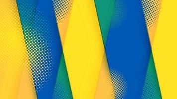 abstrait graphique futuriste en demi-teinte moderne. conception de texture de fond abstrait de vecteur. affiche de demi-teinte lumineuse. illustration vectorielle de bannière demi-teinte fond vecteur