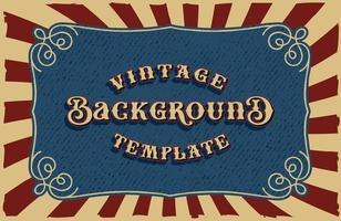 un fond de vecteur vintage, tous les éléments sont dans des groupes séparés.