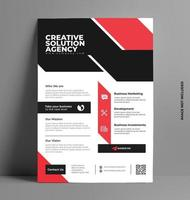 conception de brochure d'entreprise. vecteur