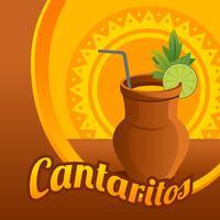 Vecteur d'illustration Cantaritos