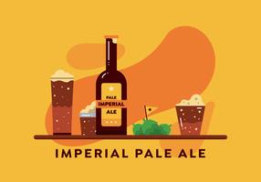 Vecteur de Pale Ale impériale