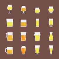 Bière Imperial Pale Ale vecteur