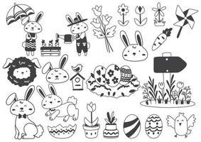 illustration vectorielle de Pâques pour bannière vecteur