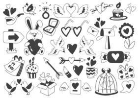 vecteur d'illustration de la Saint-Valentin pour la bannière