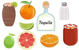 Cocktail Cantaritos vecteur