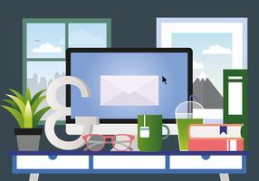 Illustration de chambre Vector Designers