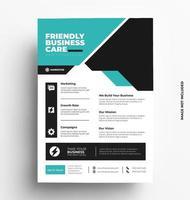 imprimer un modèle de flyer