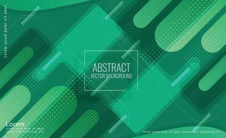 fond futuriste de données vertes abstraites vecteur