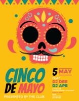 Affiche de Cinco de Mayo vecteur