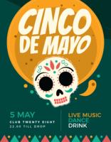 Affiche de Cinco de Mayo