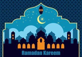 Vecteur de fond de Ramadan