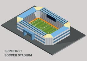 Stade de football isométrique vecteur