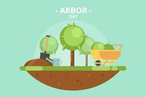 Vecteur de jour Arbor