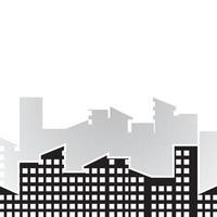 illustration d'images de toits de la ville