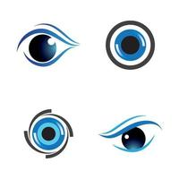images de logo de soins oculaires