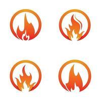 images de logo de feu