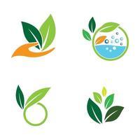 images de logo de feuille